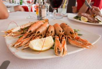 Langoustines grillées